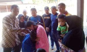 Wakil Bupati Wajo Bantu Korban Kebakaran di Patila Pammana