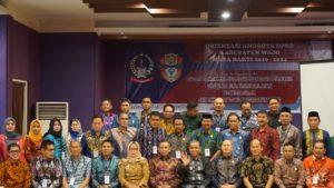 Pasca Dilantik, 40 Anggota DPRD Wajo Periode 2019-2024 Ikuti Orientasi