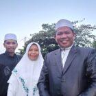 Legislator PKS, H. Agustan Ranreng, bersama dengan keluarga