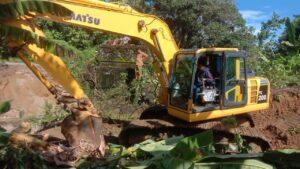Pasca Banjir, Dinas PUPR Wajo Turun Bergerak Benahi Infrastruktur Rusak Secara Bertahap