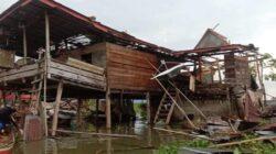 Angin Kencang Melanda Wajo, 278 Rumah Alami Kerusakan